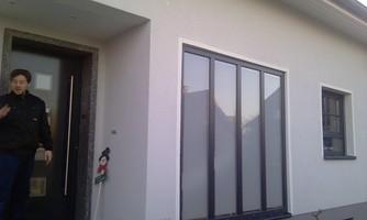 Kunststoff Fenster Und Aluminium Haustür Mit Wärmeschutz Isolierglas
